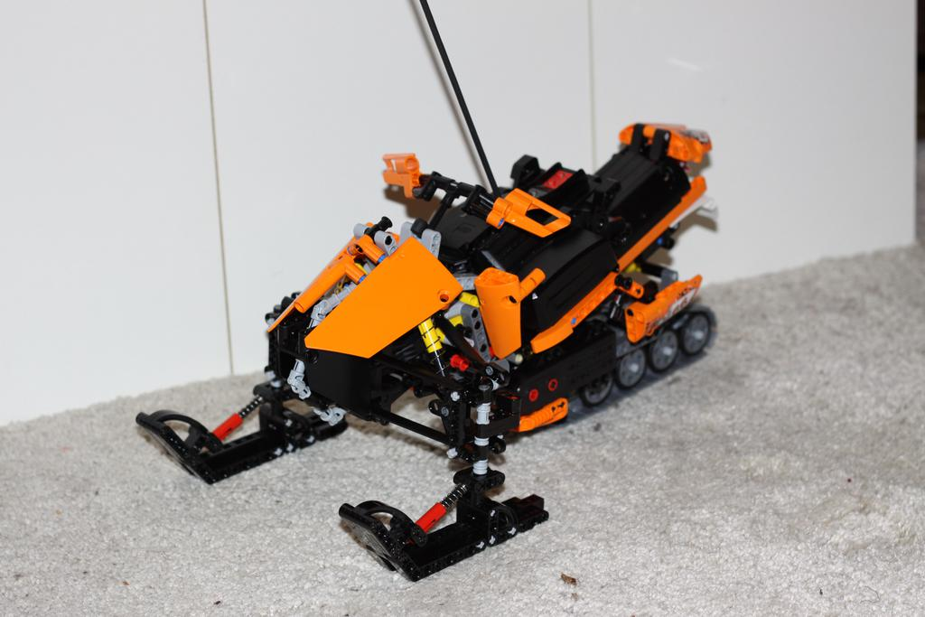 Moc Rc Snowmobile Lego Technic Mindstorms Amp Model