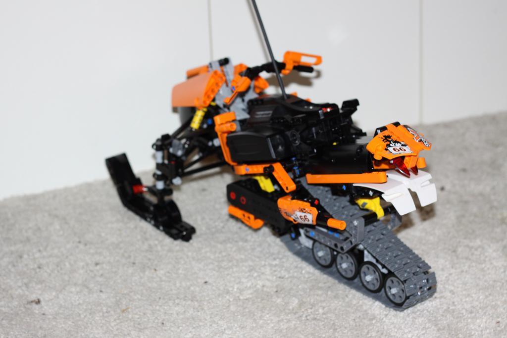 Moc Rc Snowmobile Lego Technic Mindstorms Amp Model