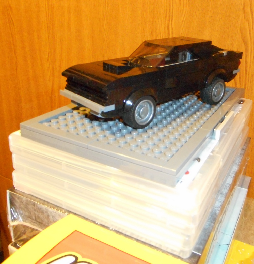 TECHNIC MOC 14651 Blade's 1968 Dodge Charger by Igor X MOCBRICKLAND