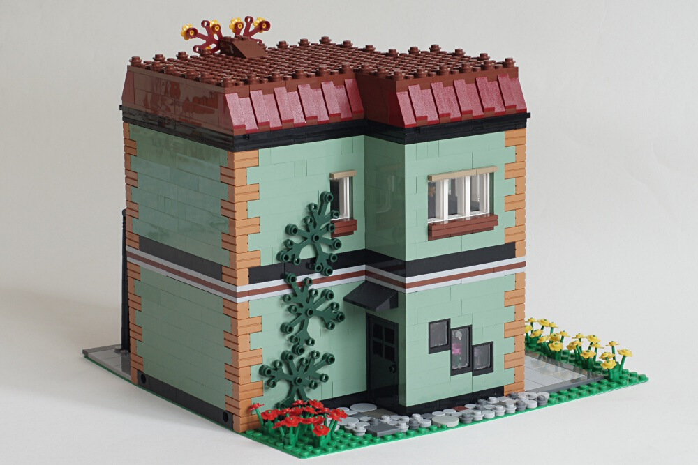MOC] Modular Flower Shop with instructions (picture heavy) - LEGO