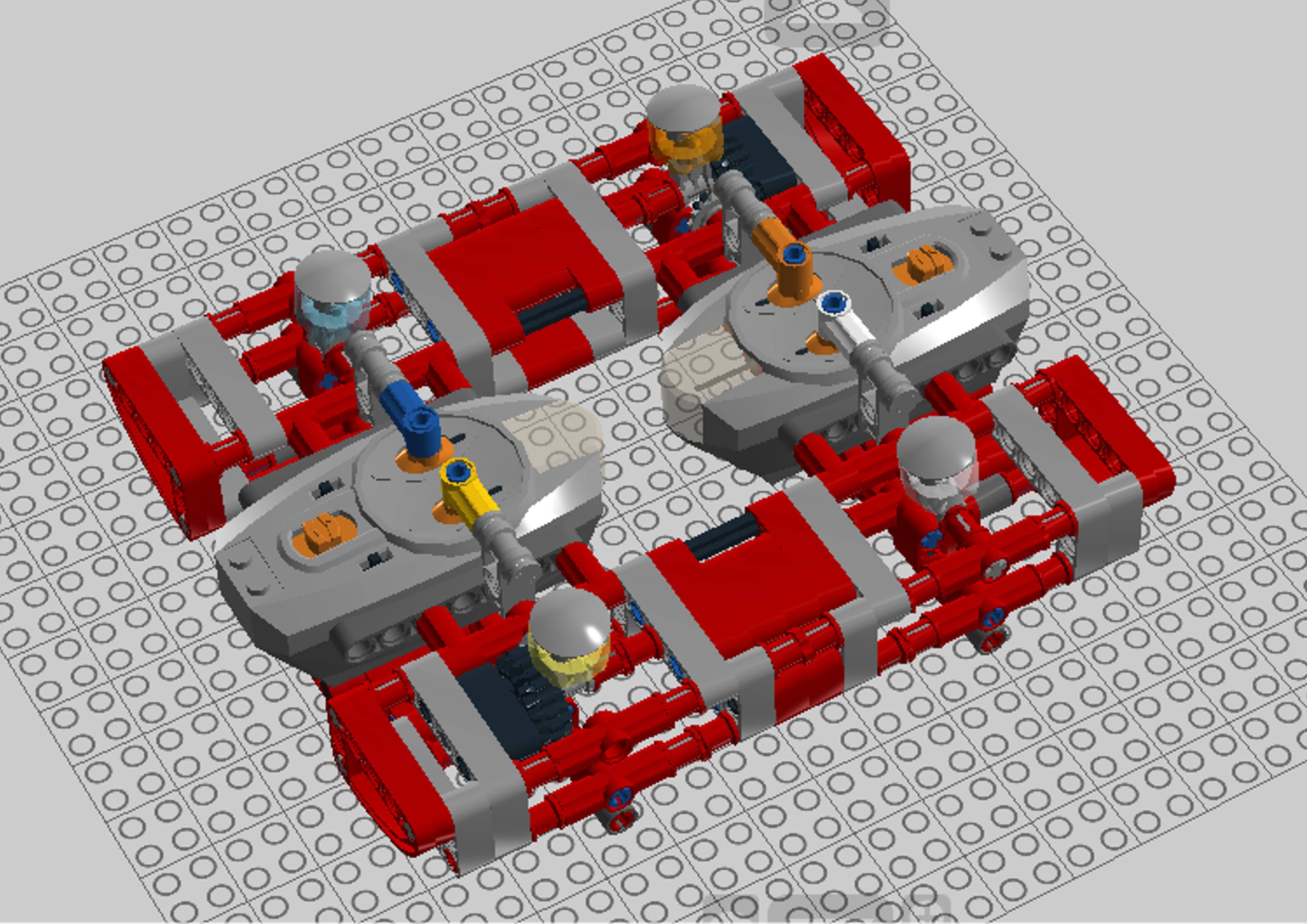 LEGO MOC-17949 CONTROL PF LDD (Technic 2018) | Rebrickable
