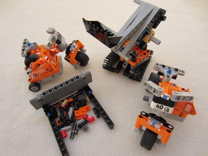 c model alternative models out set 42060 lego technic. Black Bedroom Furniture Sets. Home Design Ideas
