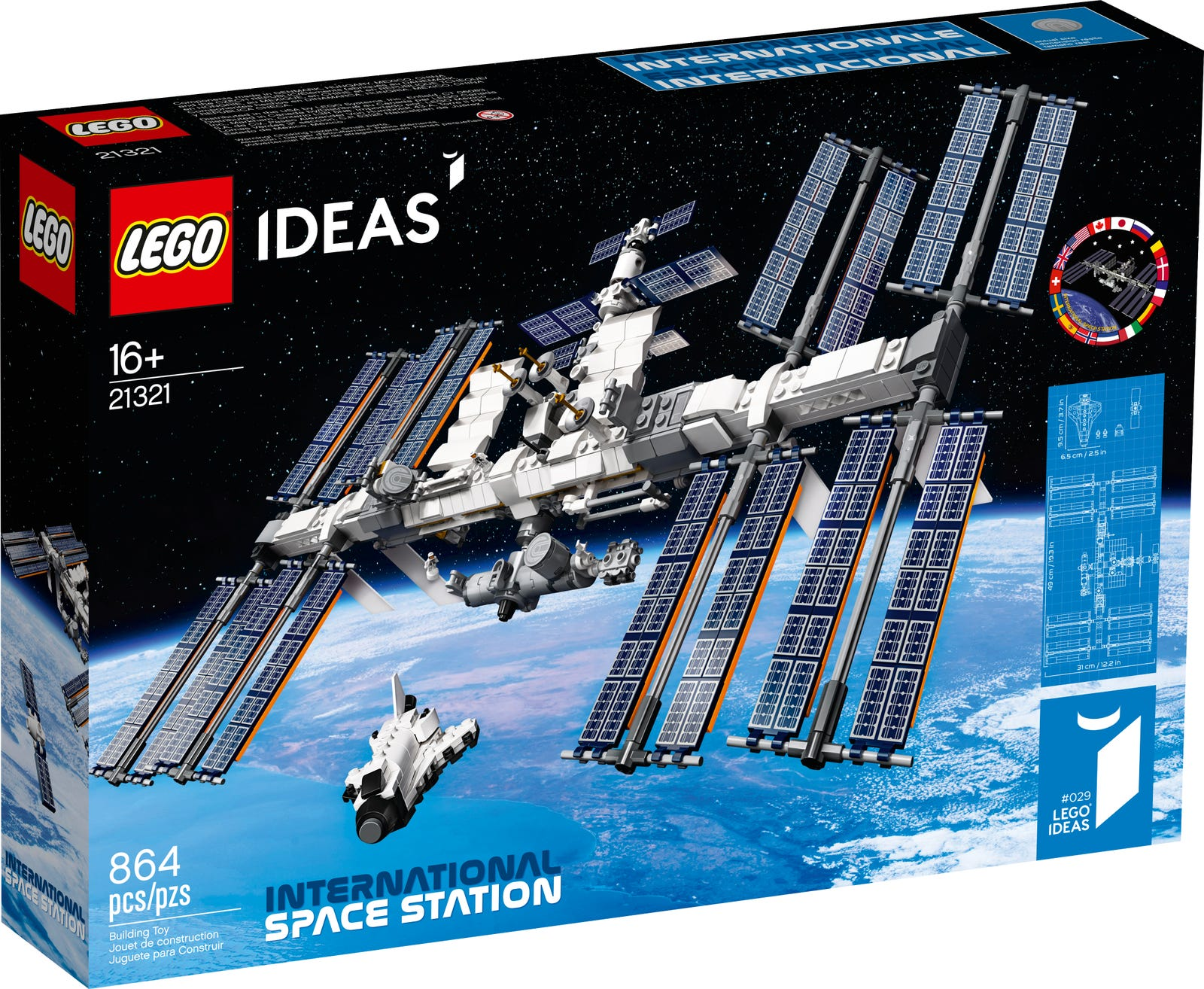 Review 21321 1 International Space Station Rebrickable Build With Lego