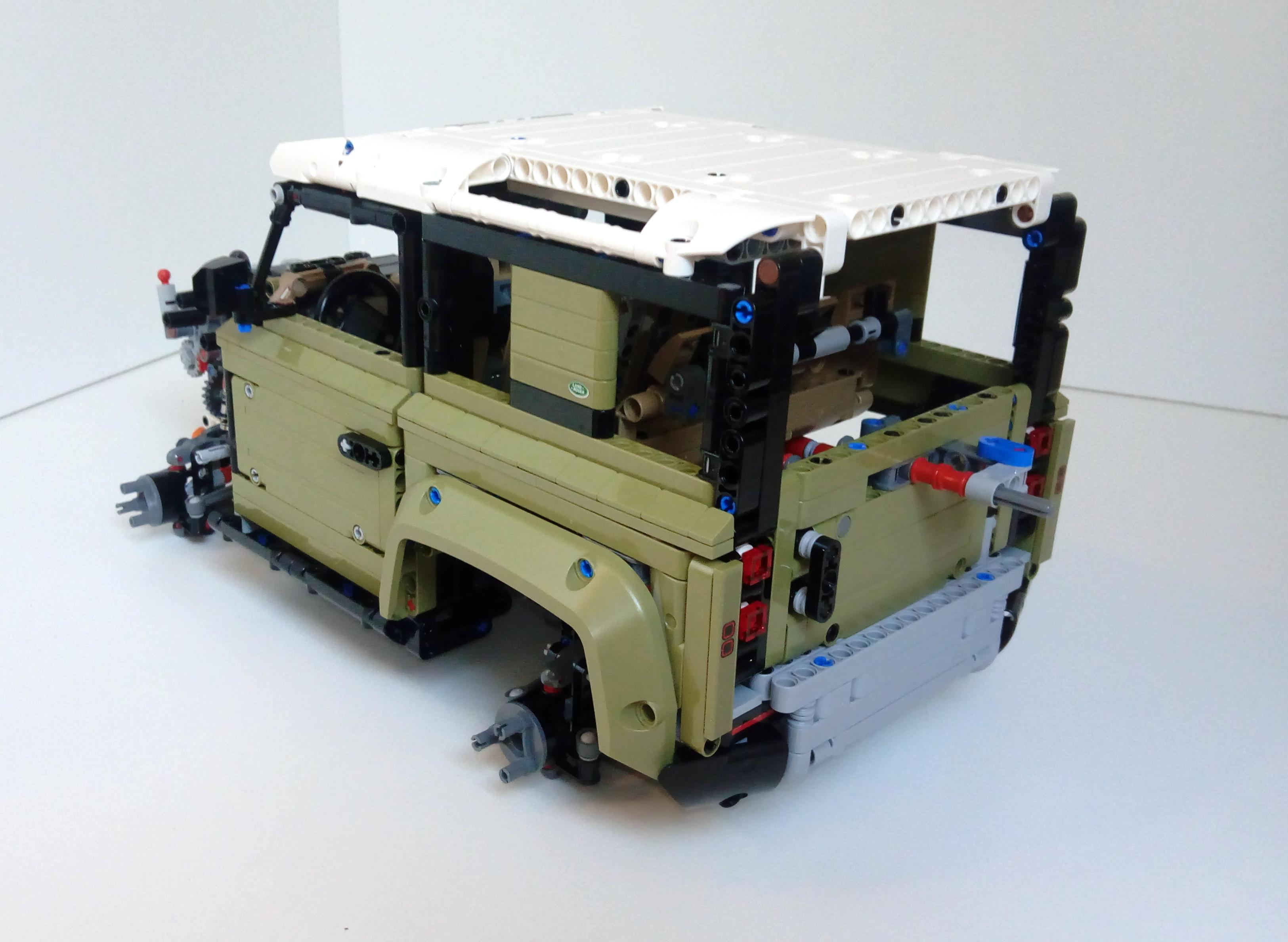 Review 42110 1 Land Rover Defender Rebrickable