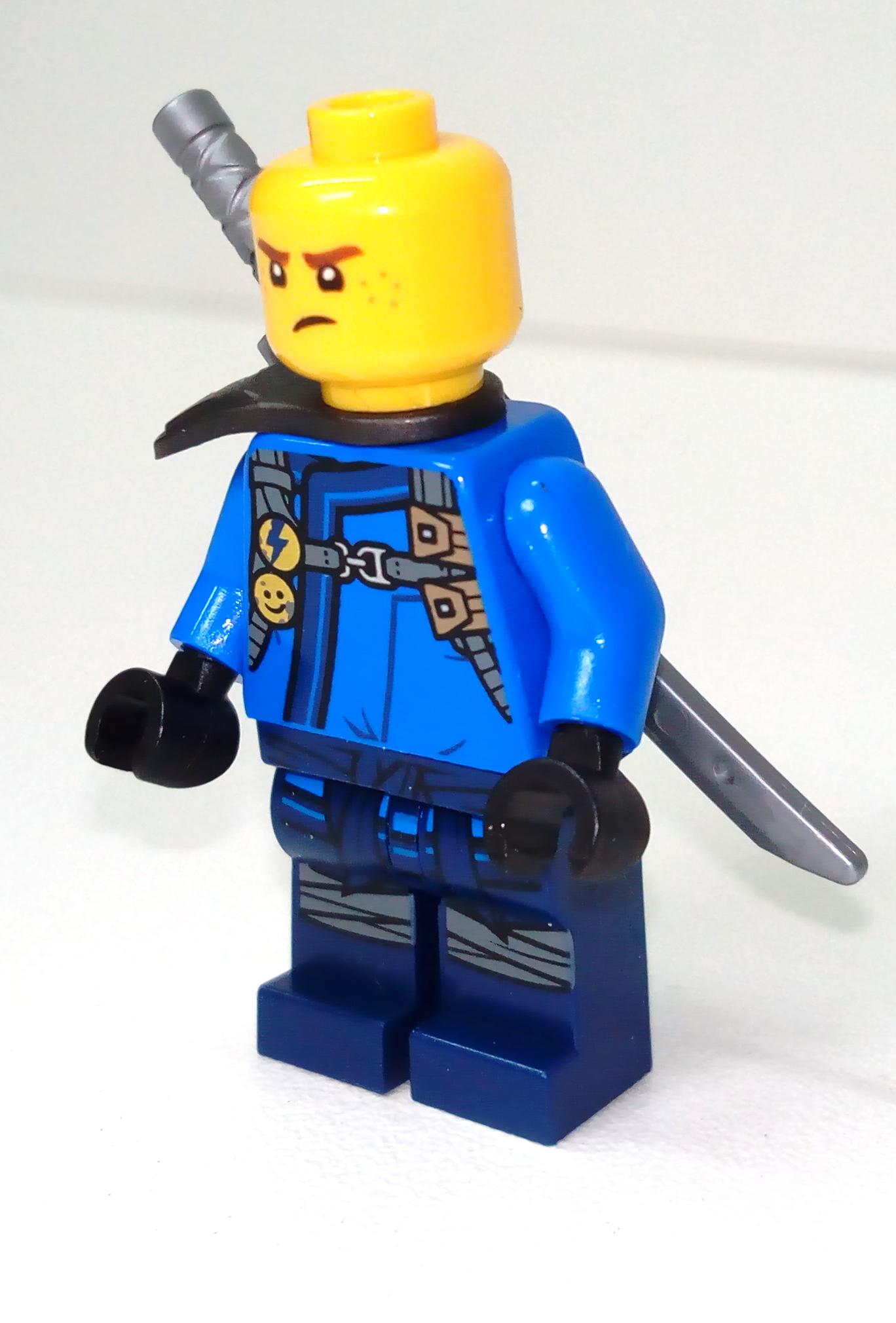 LEGO Lot of 2 Blue Plastic Ninja Flag Pieces