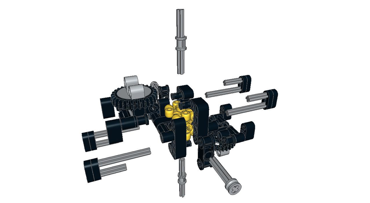 LEGO MOC-2850 XL Differential (Technic 2015)   Rebrickable - Build