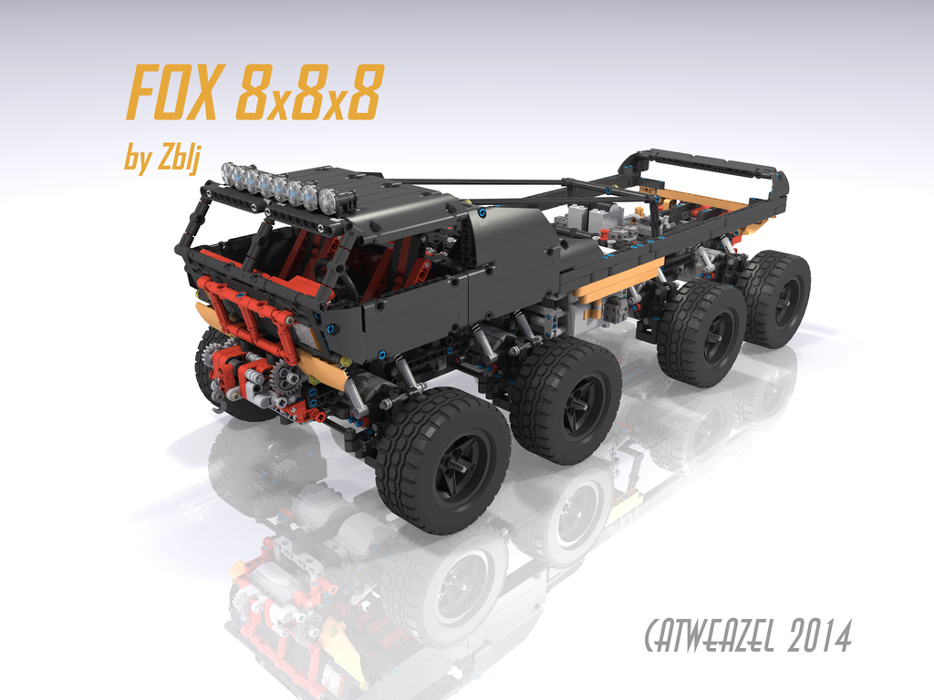 2014 Fox 8x8x8 - Page 6 - LEGO Technic and Model Team - Eurobricks