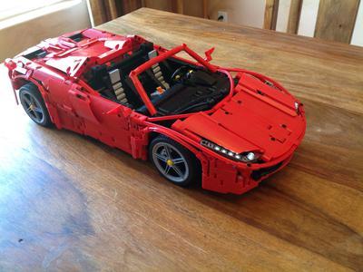 MOC REVIEW] Ferrari 458 Spider by Brunojj1 - LEGO Technic ...