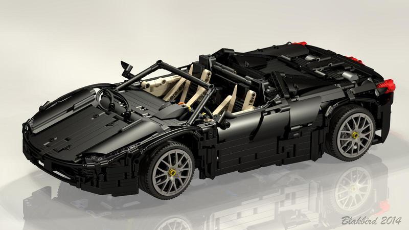 Ferrari 458 Spider - Bricksafe