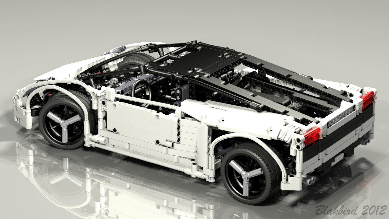 Building Instructions For Lamborghini Gallardo Lego