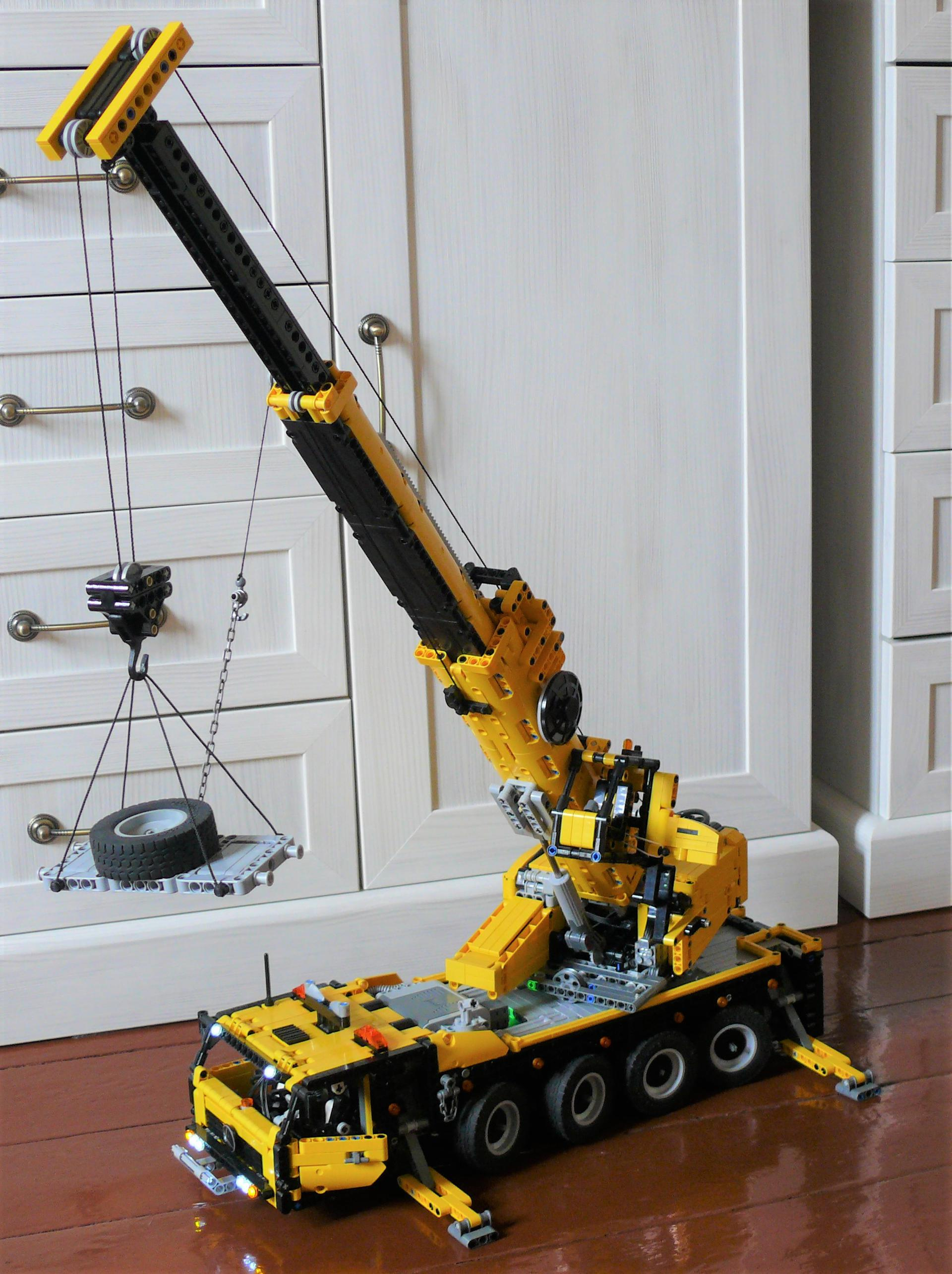 Mobile Crane Axle Loads : Rc axle mobile crane bricksafe