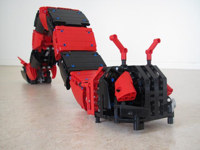 Moc Technic Autonomous Caterpillar Instructions Toysnbricks