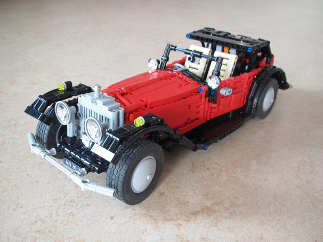 Moc Rolls Royce Phantom Ii Coupe Instructions Toysnbricks