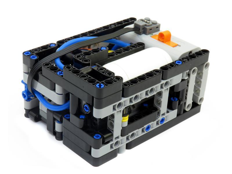 Moc Automatic Motorized Compressor Lego Technic And Model Team