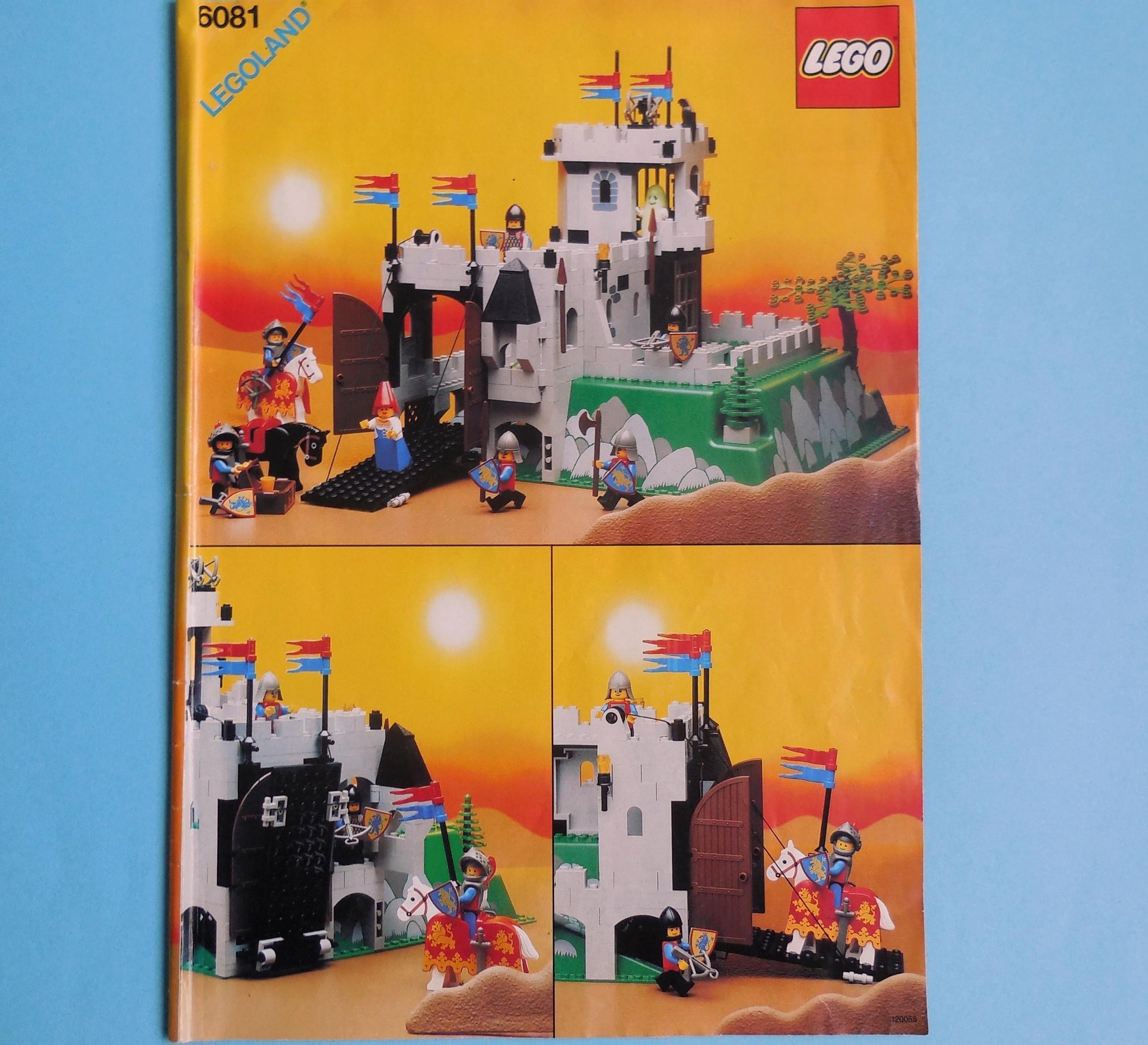 Recenzja Lego 6081 Kings Mountain Fortress Legos Soul