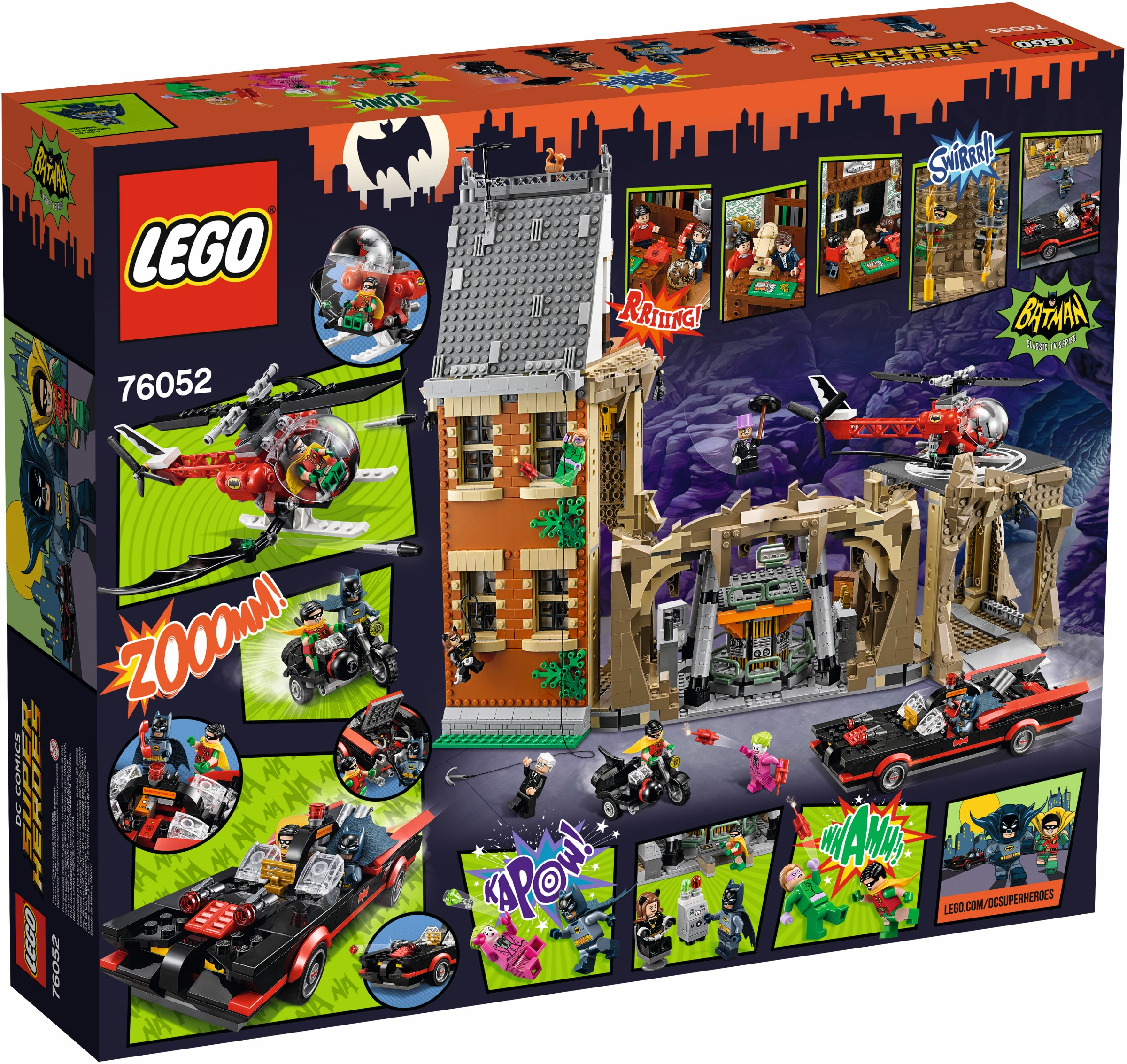 Holy 76052 1 Batman Rebrickable Build With Lego